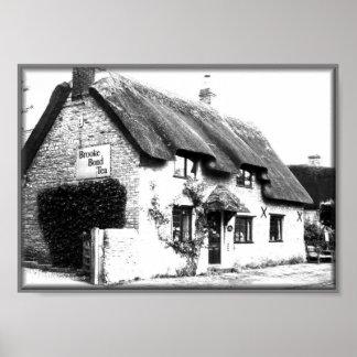 Tea Cottage Print