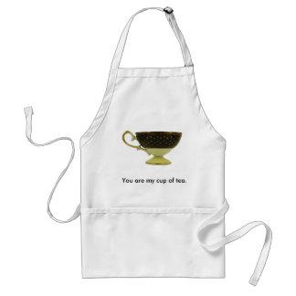 Tea cup apron
