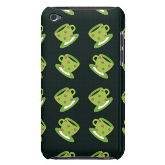 Tea Cup black Barely There iPod Cover