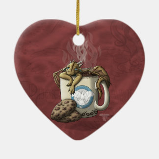 [Tea Cup Dragon] Coffee Christmas Ornament