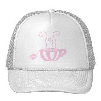 Tea Cup Mesh Hats