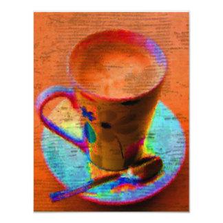 Tea Cup Invitation