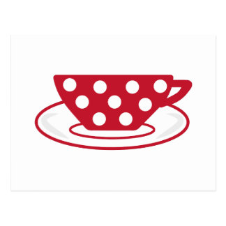 Tea Cup Post Card