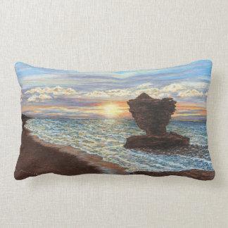 """Tea Cup Rock Pillow 13"""" x 21"""""""