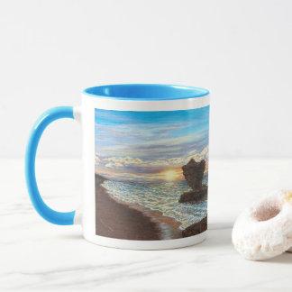 Tea Cup Rock Sunset Mug