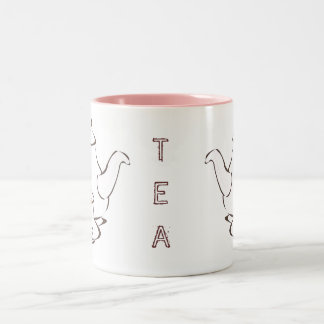 TEA cup Two-Tone Mug