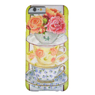 Tea cups and Roses Barely There iPhone 6 Case