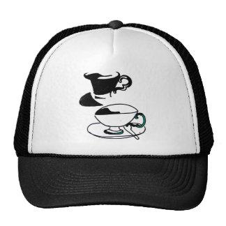 tea cup's mesh hats