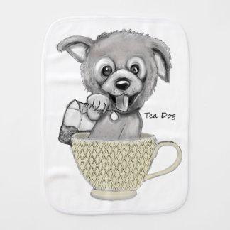 Tea Dog Burp Cloth