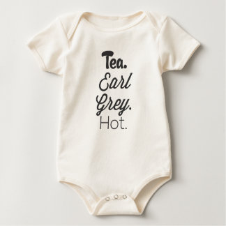 Tea - Earl Grey Hot Baby Bodysuit