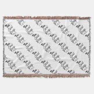 Tea - Earl Grey Hot Throw Blanket