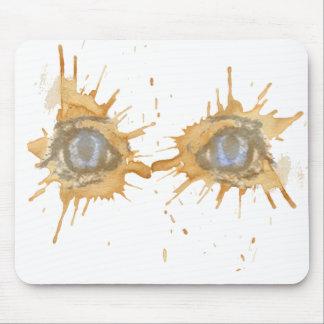 tea eyes mouse pad