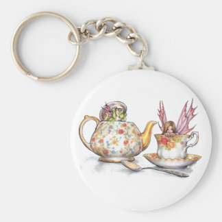 Tea for Two Keychain