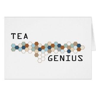 Tea Genius Greeting Cards