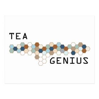 Tea Genius Postcards