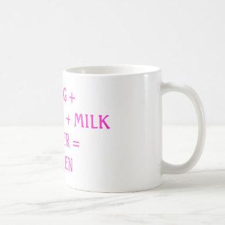 TEA = HEAVEN BASIC WHITE MUG