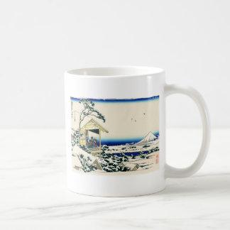Tea House in Koishikawa Basic White Mug