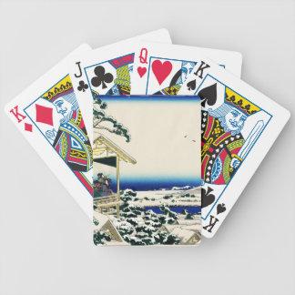 Tea House in Koishikawa Poker Cards