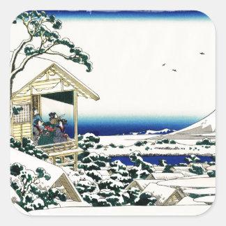 Tea House in Koishikawa Square Sticker