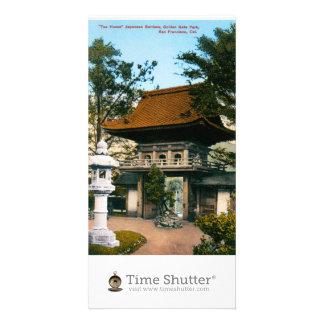 """""""Tea House"""" Japanese Gardens Photo Cards"""