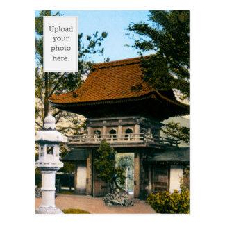 """""""Tea House"""" Japanese Gardens Postcard"""