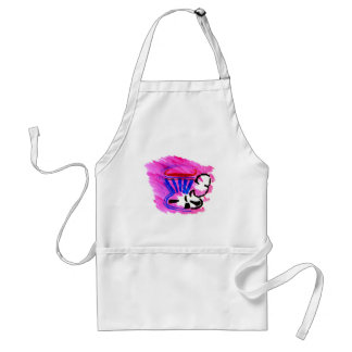 tea in a cup aprons