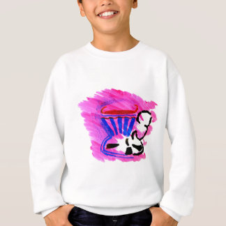 tea in a cup sweatshirt