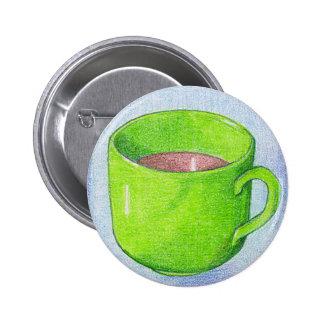 Tea in Green Button