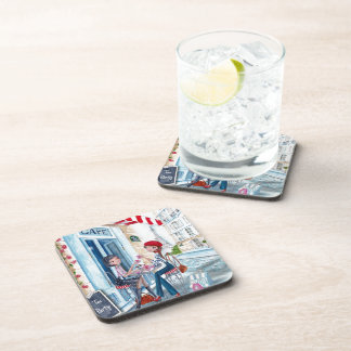 Tea in Paris Coaster