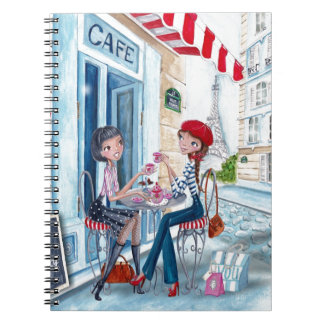 Tea in Paris Girls   Notebook