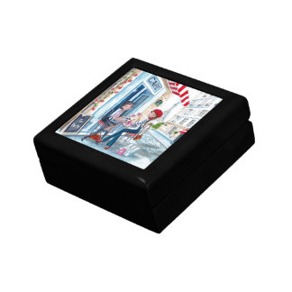 Tea in Paris Small Square Gift Box