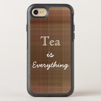Tea is Everything Plaid OtterBox Symmetry iPhone 7 Case