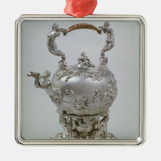 Tea kettle and stand by C.Kandler, London, 1730 Christmas Ornament