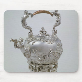 Tea kettle and stand by C.Kandler, London, 1730 Mouse Pad
