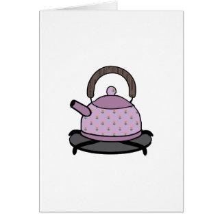 Tea Kettle Greeting Card