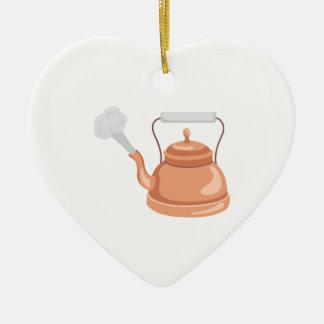 Tea Kettle Christmas Ornament