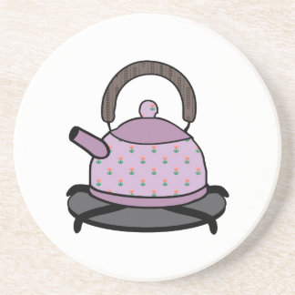 Tea Kettle Drink Coaster