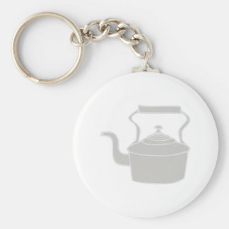 Tea Kettle Key Ring