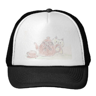 Tea Kettle Kitten Cap