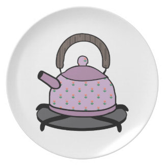 Tea Kettle Party Plates
