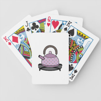 Tea Kettle Playing Cards