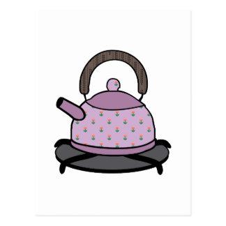 Tea Kettle Postcard