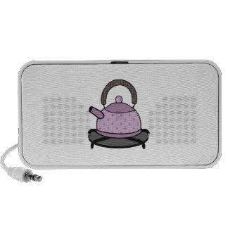 Tea Kettle Notebook Speaker