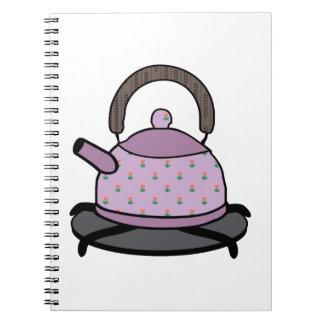 Tea Kettle Spiral Notebook