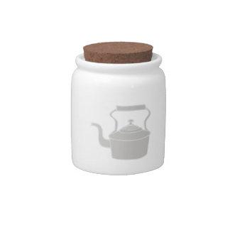 Tea Kettle Candy Jar