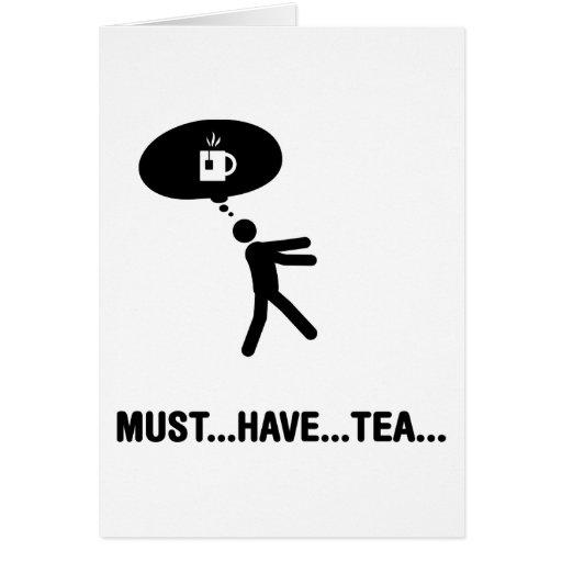 Tea Lover Greeting Card