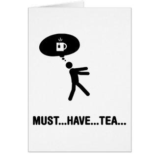 Tea Lover Note Card