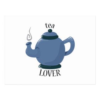 Tea Lover Postcard