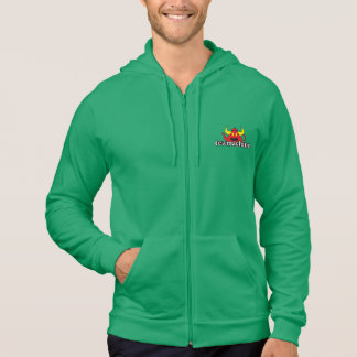 tea machine teapot Fleece Zip Hoodie