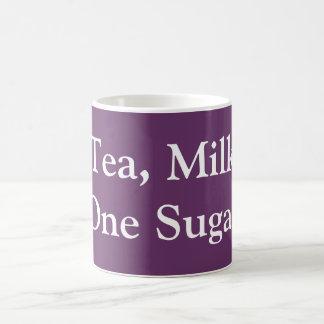 Tea, Milk, One Sugar Coffee Mug